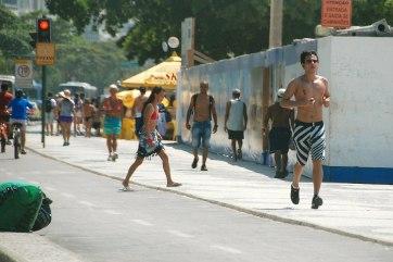 Life on Copacabana and Ipanema.