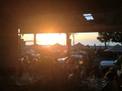 Having a sunset supper in Camps Bay is always perfect.