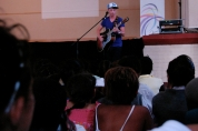 "Josh did a fantastic job of speaking to the kids and singing ""Rescue""."