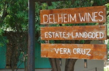 An awesome day of touring wineries in the spectacular Stellenbosch area. First stop: Delheim Winery