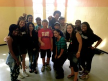 The awesome volunteers that day with the Hillsong Africa Foundation.