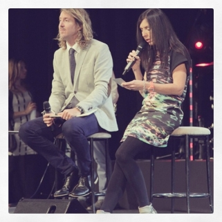 The awesome Pastors at Hillsong: Phil & Lucinda Dooley!!
