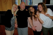 Dave & the girls - awesome!