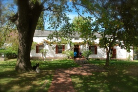 The Butlers new beautiful home in Wellington, about 45 minutes from Cape Town.