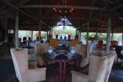 Lodge lobby.