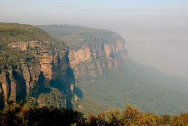 Day trip to the Blue Mountains - a few hours drive from Sydney.