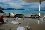 Beautiful breakfast spot.