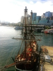 """The Endeavour"" - this ship sails around the world. How cool would that be to go on that trip?"